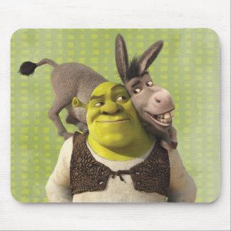 Asno e Shrek Mouse Pad