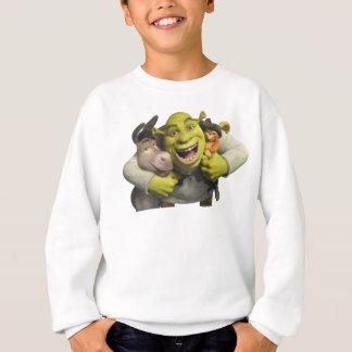 Asno, Shrek, e Puss nas botas Agasalho