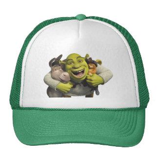 Asno, Shrek, e Puss nas botas Boné