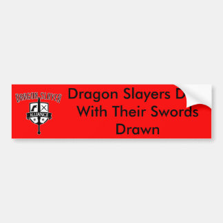 Assassino Alliance do dragão Adesivo Para Carro