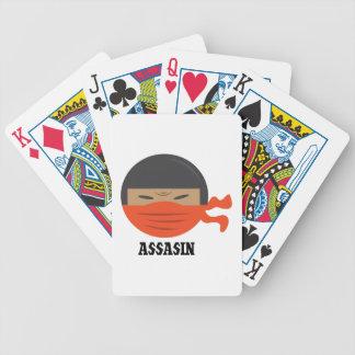 Assassino Baralho Para Poker