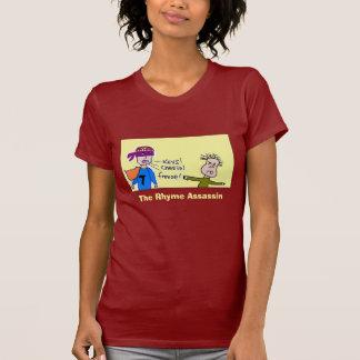 assassino da rima da boneca - personalizado t-shirt