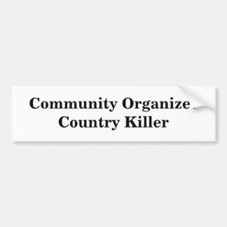 Assassino de OrganizerCountry da comunidade Adesivo Para Carro