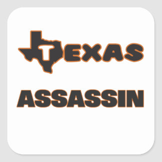 Assassino de Texas Adesivo Quadrado