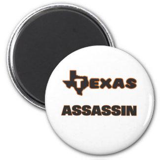 Assassino de Texas Ímã Redondo 5.08cm