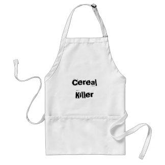 Assassino do cereal avental