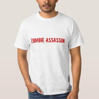 Assassino do zombi camisetas