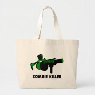Assassino do zombi bolsas para compras