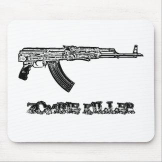 Assassino do zombi mouse pad