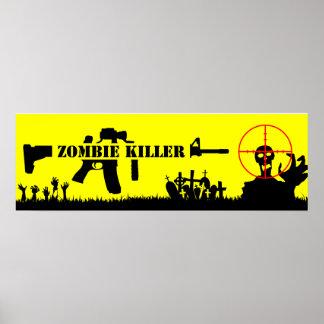 Assassino do zombi pôster