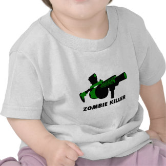 Assassino do zombi t-shirts