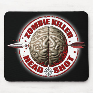 Assassino do zombi mouse pads