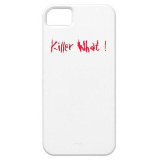 Assassino que! capa para iPhone 5