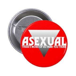 Assexuado: Há mais de nós do que você pensa Bóton Redondo 5.08cm