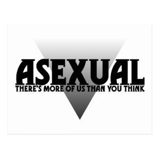 Assexuado: Há mais de nós do que você pensa Cartão Postal
