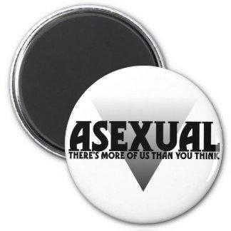 Assexuado: Há mais de nós do que você pensa Ímã Redondo 5.08cm