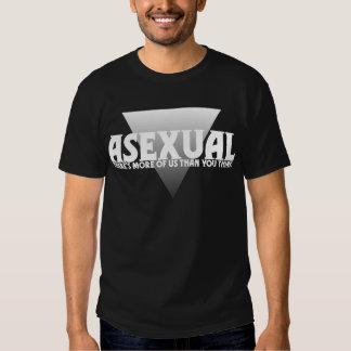 Assexuado: Há mais de nós do que você pensa Tshirts