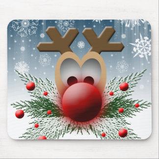 Assim incandesce Natal Mousepad do feriado