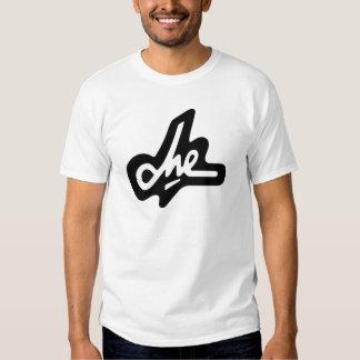 Assinatura de Che Guevara no branco Camiseta