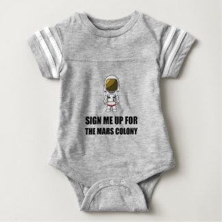 Assine acima a colônia de Marte Tshirt