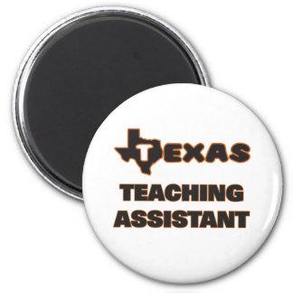 Assistente de ensino de Texas Ímã Redondo 5.08cm
