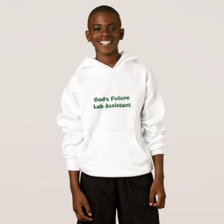 Assistente de laboratório futuro do pai t-shirt