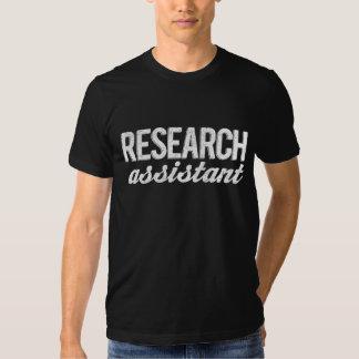 Assistente de pesquisa camiseta