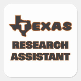Assistente de pesquisa de Texas Adesivo Quadrado