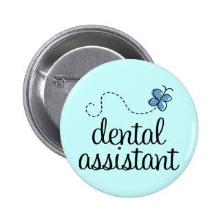 Assistente dental bonito bóton redondo 5.08cm