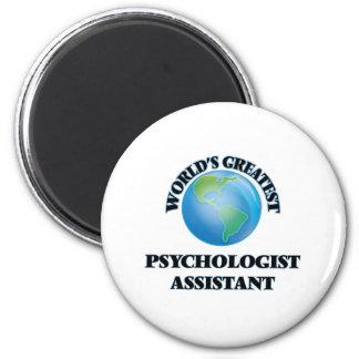 Assistente do psicólogo do mundo o grande ima de geladeira