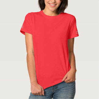 Assistente dos cuidados - capas somente camiseta polo bordada feminina
