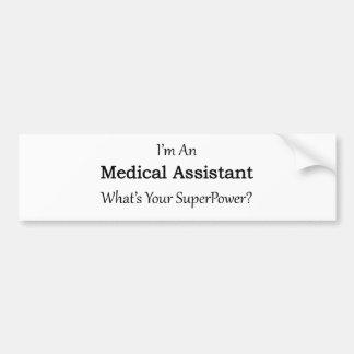 Assistente médico adesivo para carro