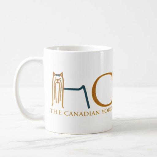 Associação canadense do yorkshire terrier canecas
