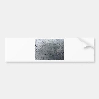 Associação da água adesivo para carro