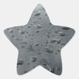 Associação da água adesivos estrelas