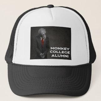 Associação de alunos da faculdade do macaco boné