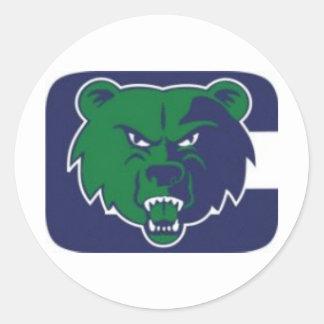Associação de futebol da juventude dos ursos de adesivo