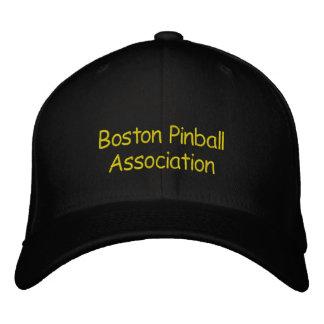 Associação do Pinball de Boston Boné Bordado
