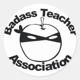 Associação do professor de Badass Adesivo