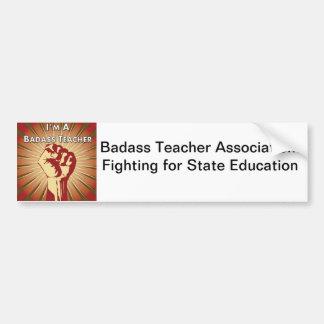 Associação do professor de Badass Adesivos