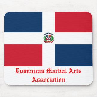 Associação dominiquense das artes marciais mouse pad