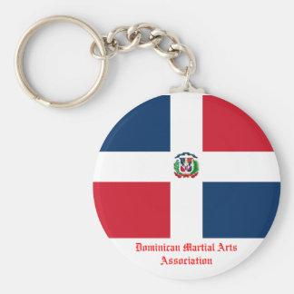 Associação dominiquense das artes marciais chaveiro
