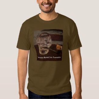 Associação dominiquense das artes marciais tshirts