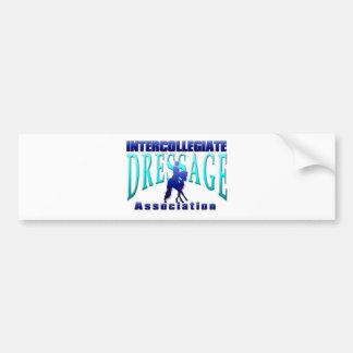 Associação intercolegial do adestramento adesivo para carro