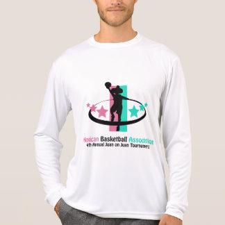 Associação mexicana do basquetebol t-shirt