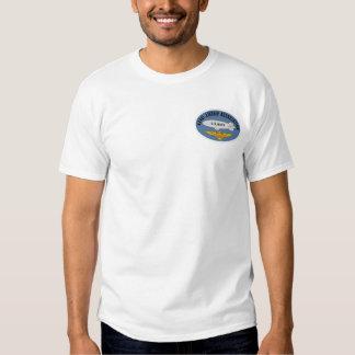 Associação naval do dirigível - camisa tshirts
