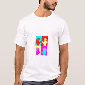 Associação preta americana da quiroterapia do tshirts