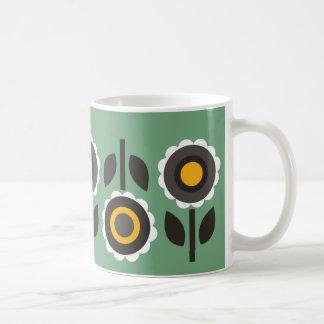 Áster verde caneca de café