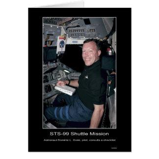 Astronauta Dominic L. Gorie Cartão