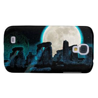 Astronomia Reino Unido do céltico Stonehenge, da Galaxy S4 Cover